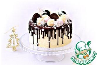 Рецепт: Муссовый торт Рафаэло