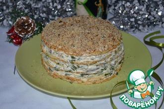 Рецепт: Торт закусочный Праздничный