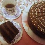 Постный торт Шоколадный крем-мусс