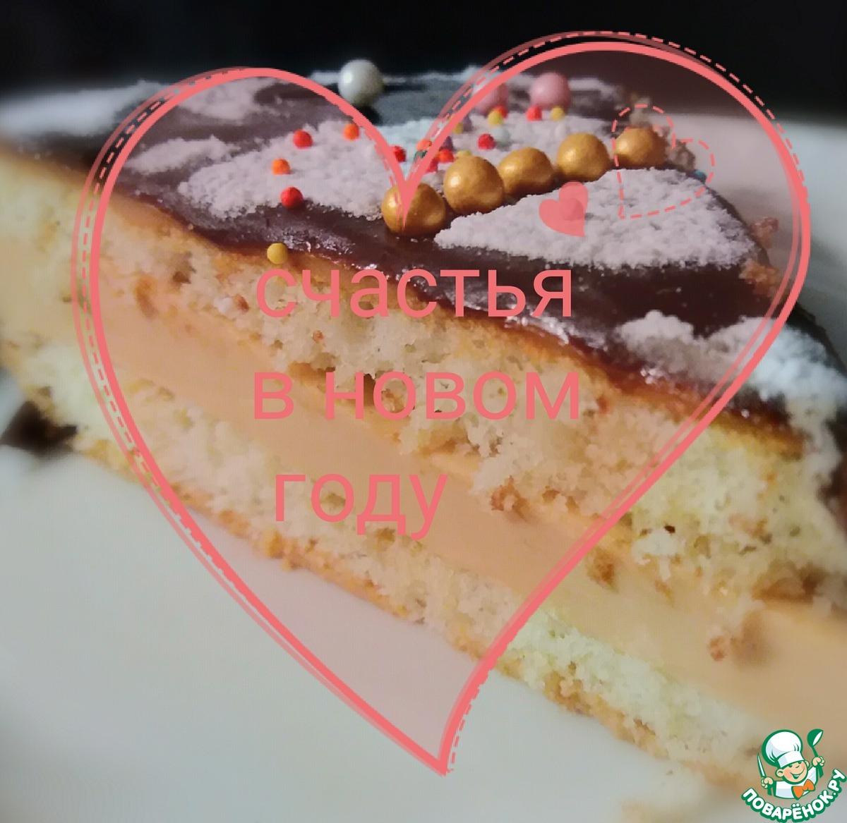 """Невесомый торт-суфле """"Екатерина"""""""