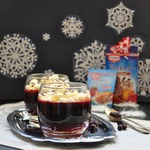 Желейный десерт Смородина со сливками