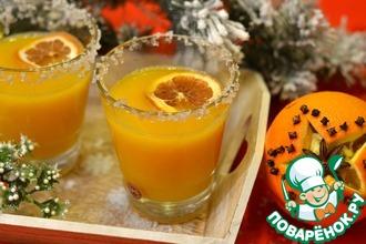 Рецепт: Горячая оранжада