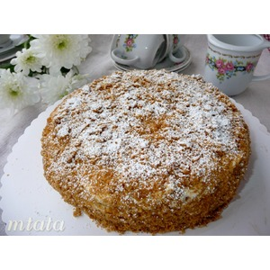 Торт Сметанник на патоке