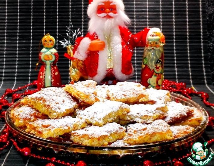 Рецепт: Печенье Хрустящее из хлопьев с цукатами