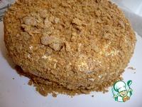 Торт Сметанник на патоке ингредиенты