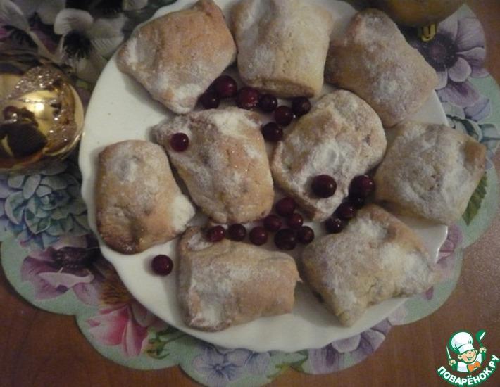 Рецепт: Печенье Ушки у подушки