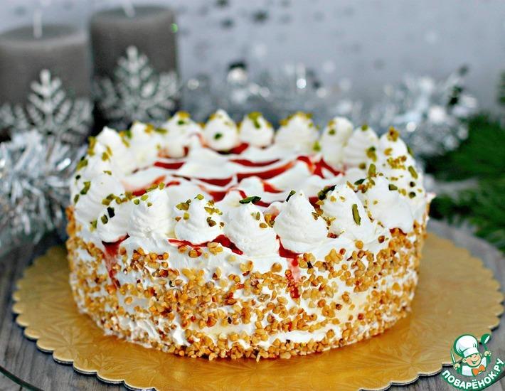 Рецепт: Малакофф-торт