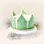 Торт Корона Снежной королевы