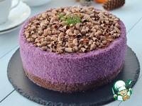 Черничный муссовый торт на брауни ингредиенты