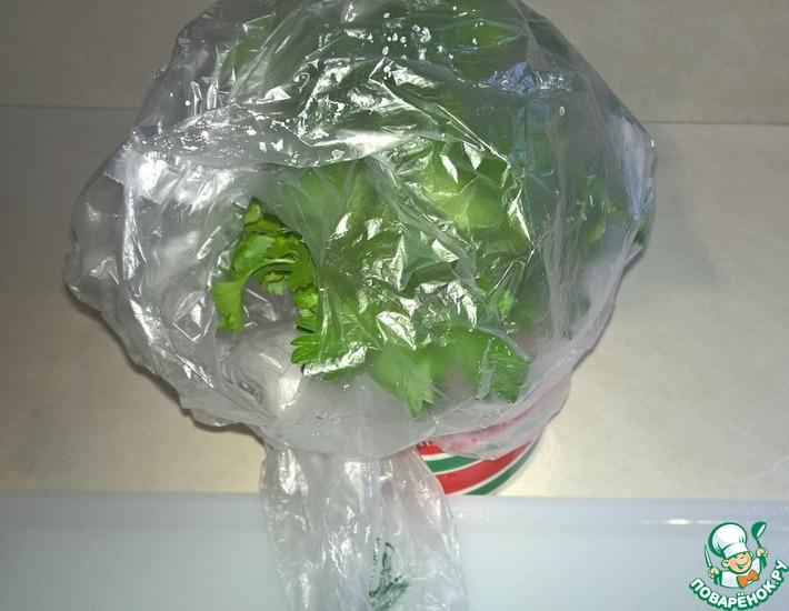 Как сохранять зелень свежей