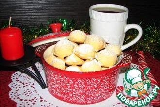 Рецепт: Печенье Новогодние пельмени