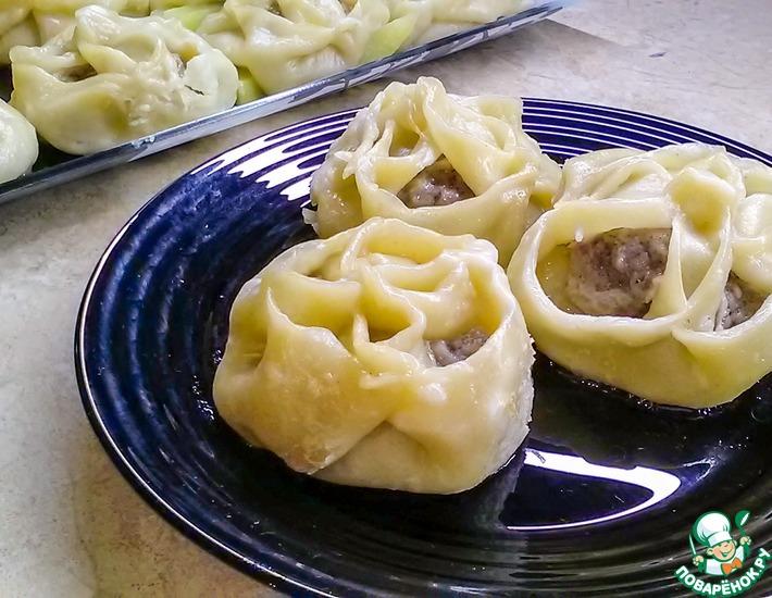 Манты из баранины рецепты с фото легкие в приготовлении