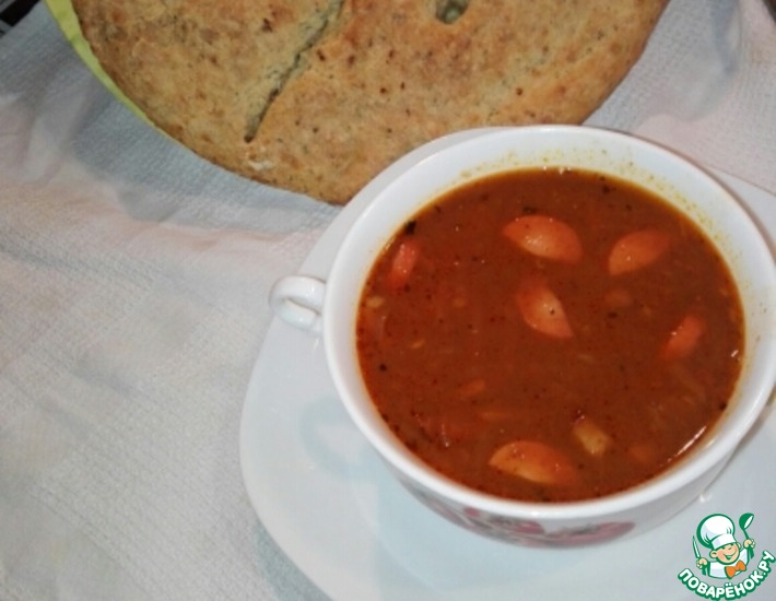 Рецепт: Суп из бобовых Царь горох
