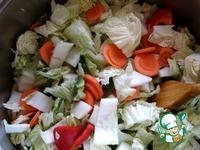 Острая капуста типа кимчи ингредиенты