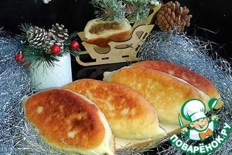 Рецепт: Острые фасолевые пирожки по-грузински