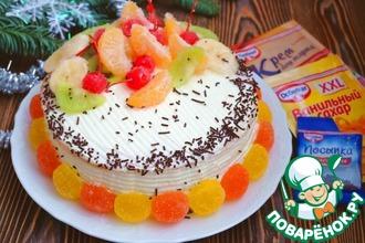 Рецепт: Торт Полина