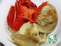Греческий салат с баклажанами и орехами ингредиенты