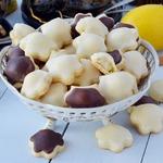 Печенье Лимонные кармашки с миндальной начинкой