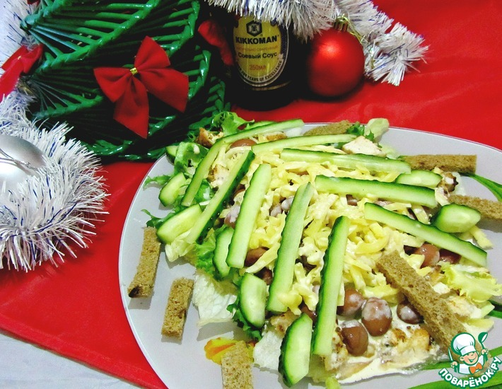 салат акапулько фото- рецепт поваренок