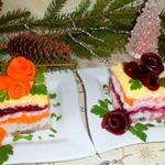 Пирожные Селедка под шубой