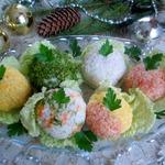 Закуска Новогодние шары