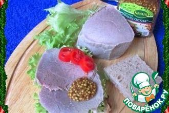 Рецепт: Говядина для бутербродов