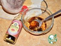 Томленая свиная рулька, грилованная в соусе ингредиенты