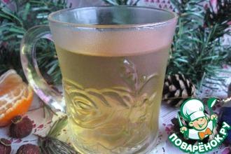 Рецепт: Чай из сосновой хвои и шиповника