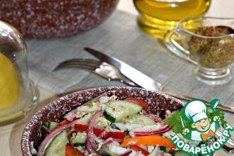 Рецепт: Овощной салат Похрустим?