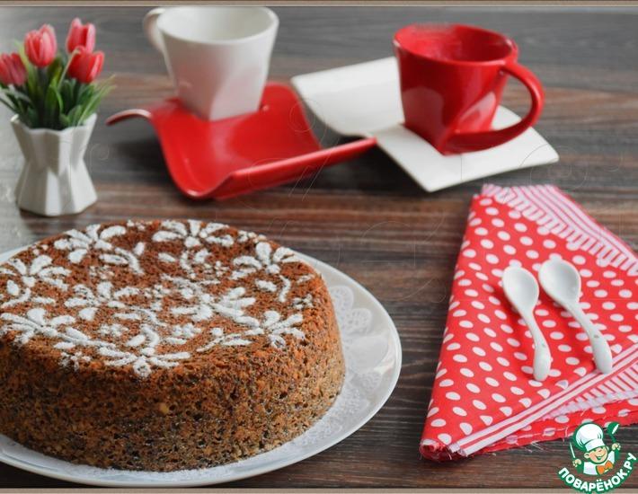 Рецепт: Маковый пирог Мечта