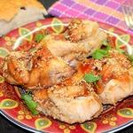 Запеченная курица Восточная красавица