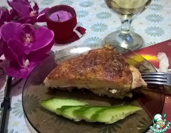 Рецепт: Картофельная запеканка с мясным фаршем