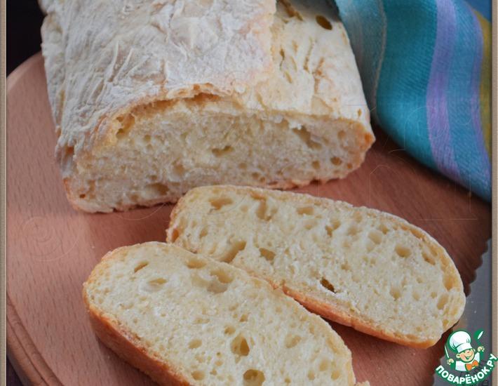 Рецепт: Хлеб без замеса