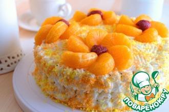 Рецепт: Домашний морковный торт Ах