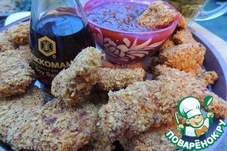Рецепт: Куриные наггетсы с кисло-сладким соусом