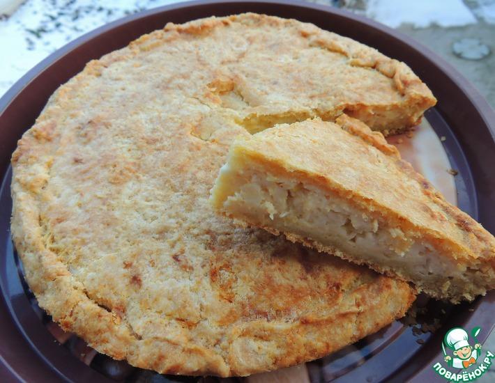 Рецепт: Пирог Закусочный с двумя начинками