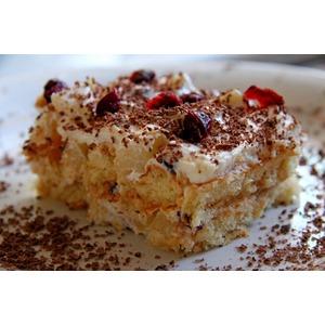 Торт из печенья Савоярди без выпечки