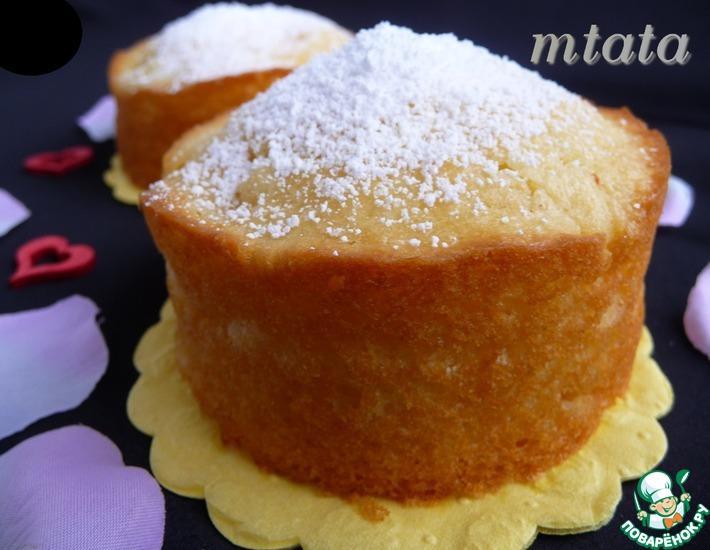 Рецепт: Творожные кексы