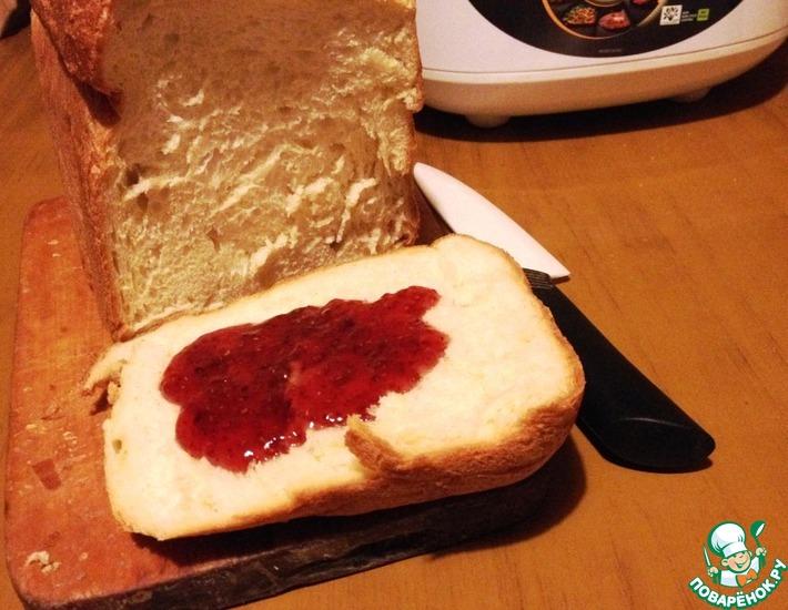 Рецепт: Молочный хлеб
