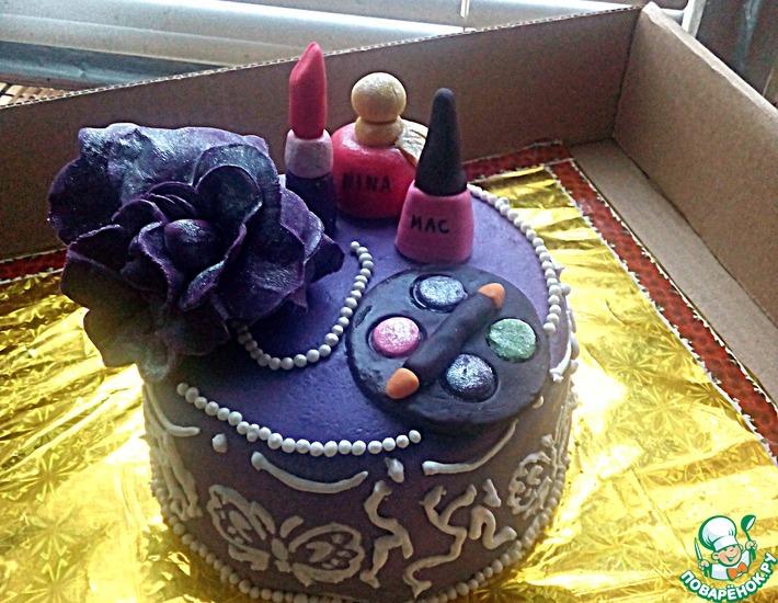 Рецепт: Торт с шифоновым бисквитом на соке
