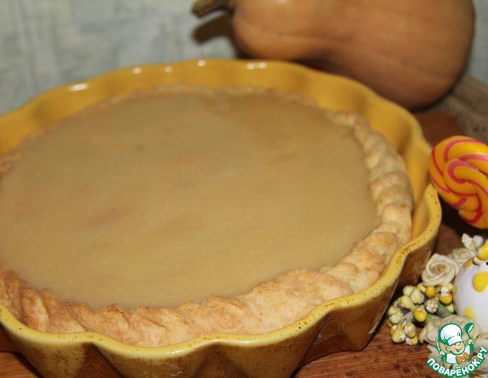Рецепт: Тыквенный пирог со сливочной помадкой