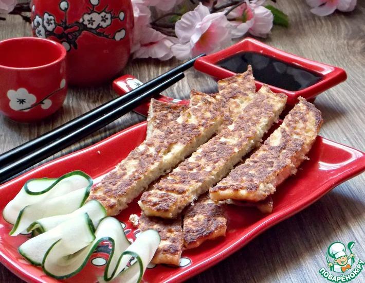 Рецепт: Японские рыбные палочки