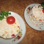 Салат Мексика с курицей и рисом