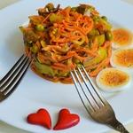 Теплый салат Витаминный