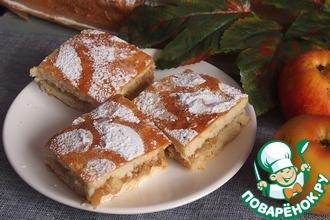 Рецепт: Старомодный яблочный пирог