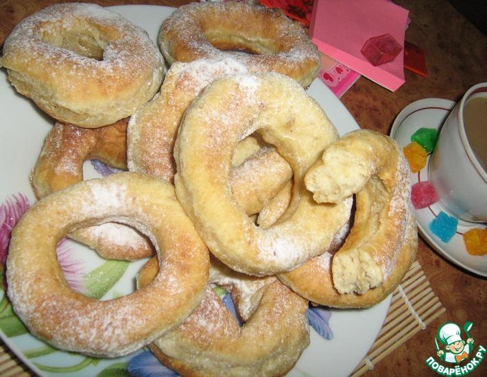 Рецепт: Московские пончики