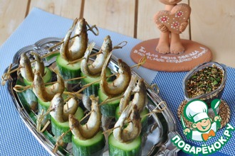 Рецепт: Корюшка жареная Ужин приморского рыбака