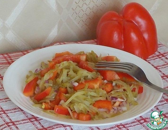 Рецепт: Овощной салат