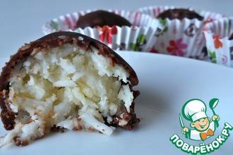 Рецепт: Домашние конфеты Баунти