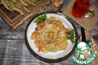 Рецепт: Овощное рагу с тефтелями